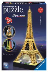 3D Puzzle Eifelova věž Noční LED