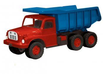 Auto Tatra 148 plast 73cm modročervená