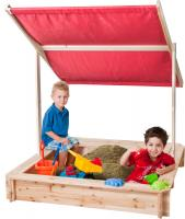 Sandpit with the roof