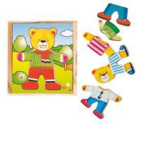 Dress-up puzzle – Teddy Bear
