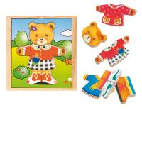 Dress-up puzzle – bear girl