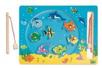 Magnetic fishing game - sea life