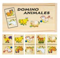Domino - farm animals