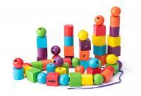 Maxi beads, 72 pcs