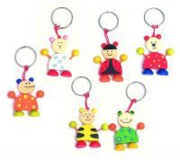 Keyring Animal, display 72 pcs