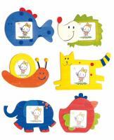 Photo frame - animals, display 24 pcs