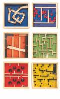 Labyrinths with balls, displ. 12 pcs