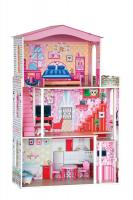 Doll house with the lift - colourful