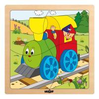 Baby puzzle - Happy Engine, 4pcs