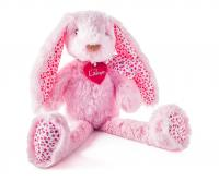 Stella pink rabbit, large 38cm