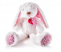 Ella white rabbit, large 38cm