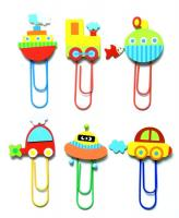 Color paper clips-maxi ´´Traffics´´, set 48pcs