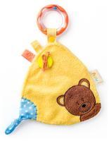 """Doudou teddy with rattle """"MATAHI"""""""