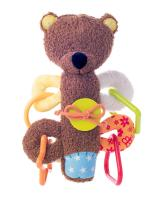 "Cuddly teddy with squeaking rattle ""MATAHI"""