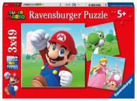 Super Mario 3x49 dílků