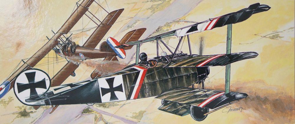 Fokker Dr. 1   1:48
