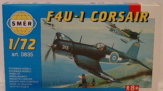 Chance Vought F4U-1 Corsair  1:72