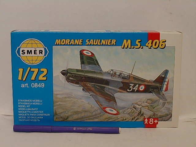 Morane Saulnier MS 406  1:72