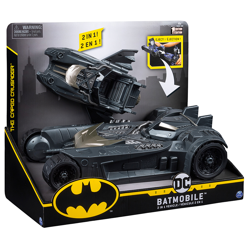 BATMAN BATMOBIL A BATLOĎ PRO FIG 10cm