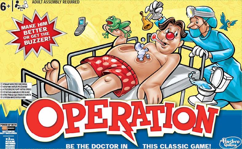 Spol. hra pro děti Operace