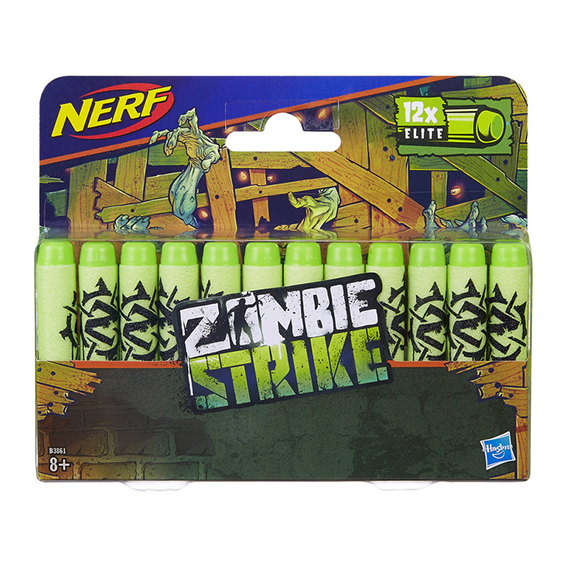 Nerf Zombie 12 ks šipek