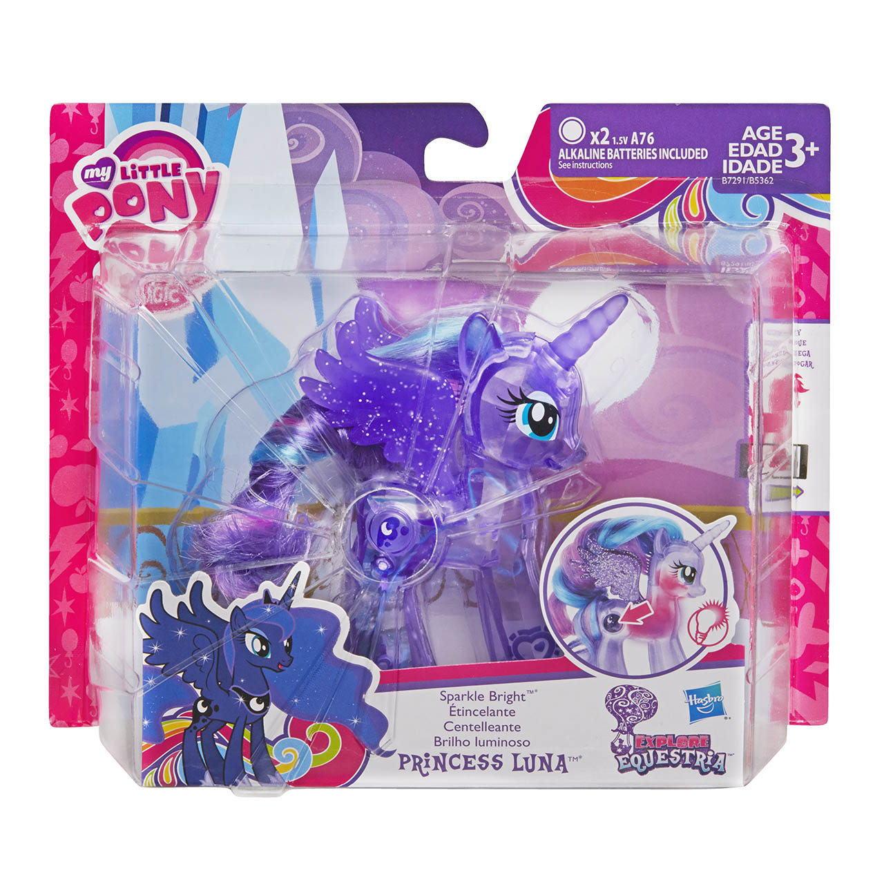 my little pony magic mirror microphone instructions