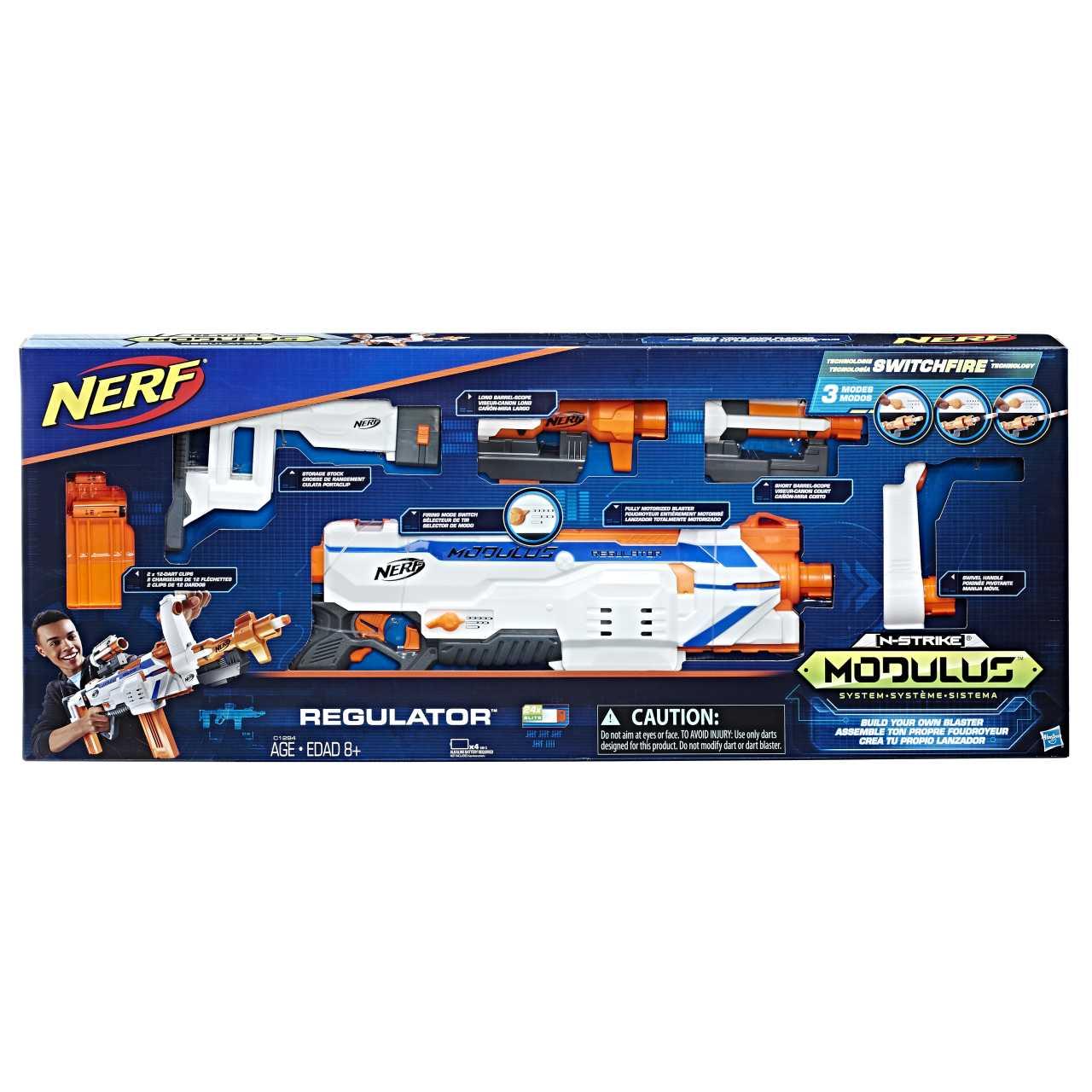 Nerf Modulus Regulator blástr