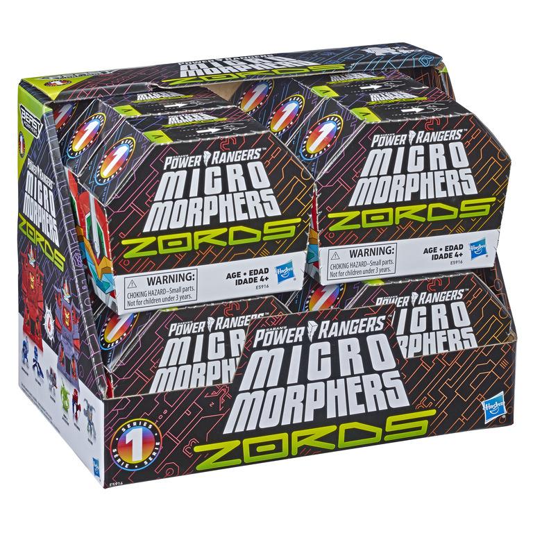 Power Rangers Mega Micro Morphers
