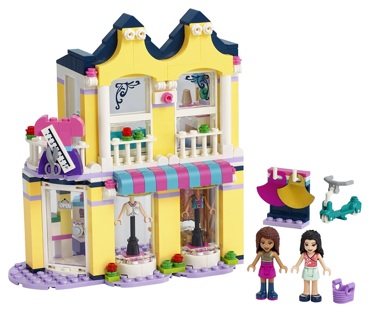 Emma a její obchod s oblečením