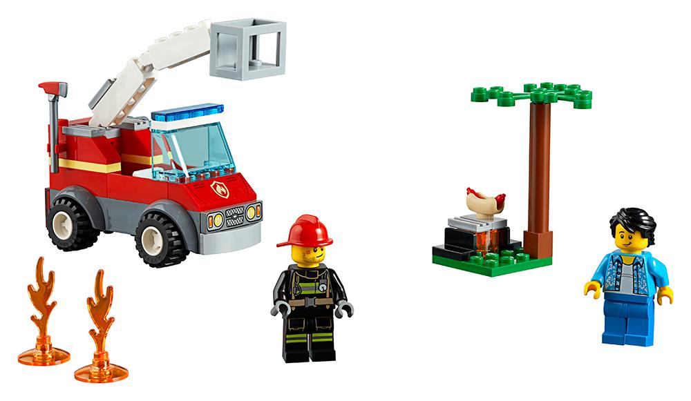 Grilování a požár