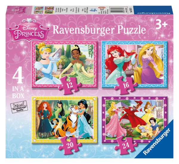 Disney Princezny  4 v 1 - 12/16/20/24d