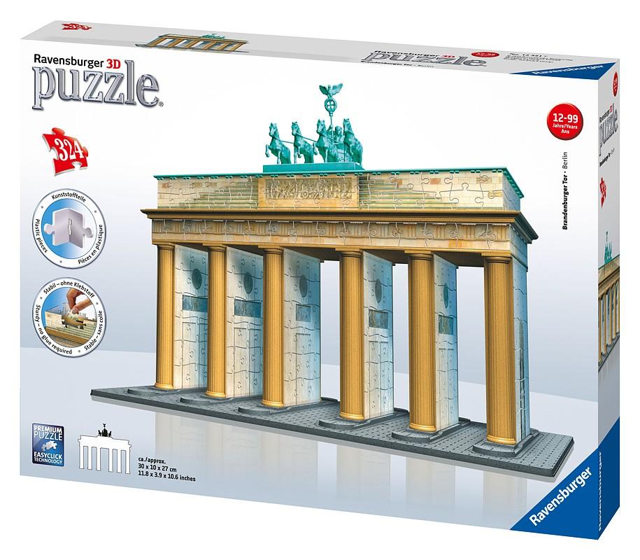 Brandenburská brána 3D