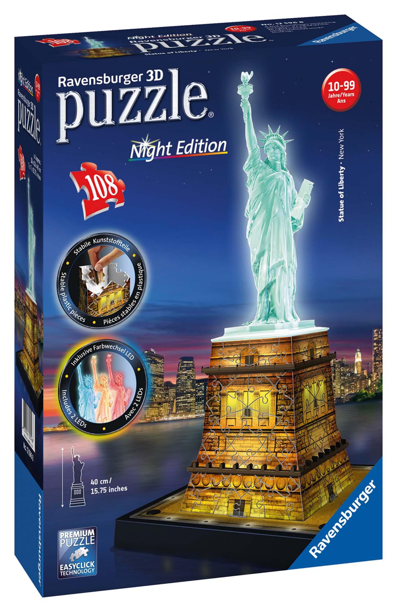 Socha Svobody 3D (Noční edice) 108d