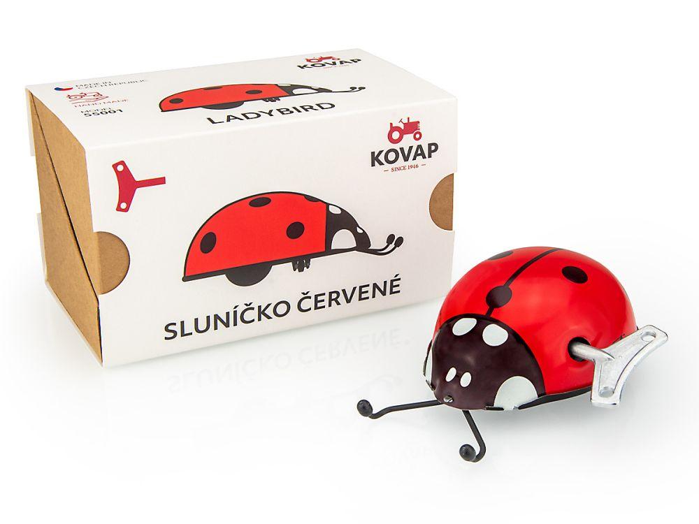 Sluníčko červené (klíček)