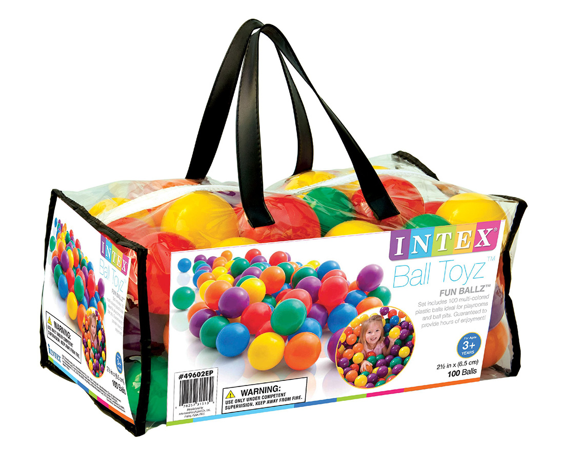Míčky do hracích koutků (100ks)