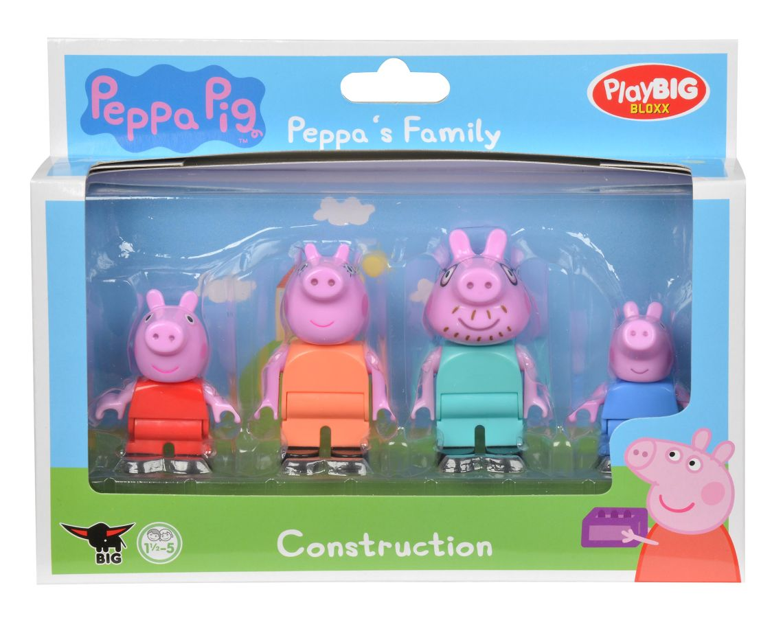 Big PlayBig BLOXX Peppa Pig Figurky - rodina
