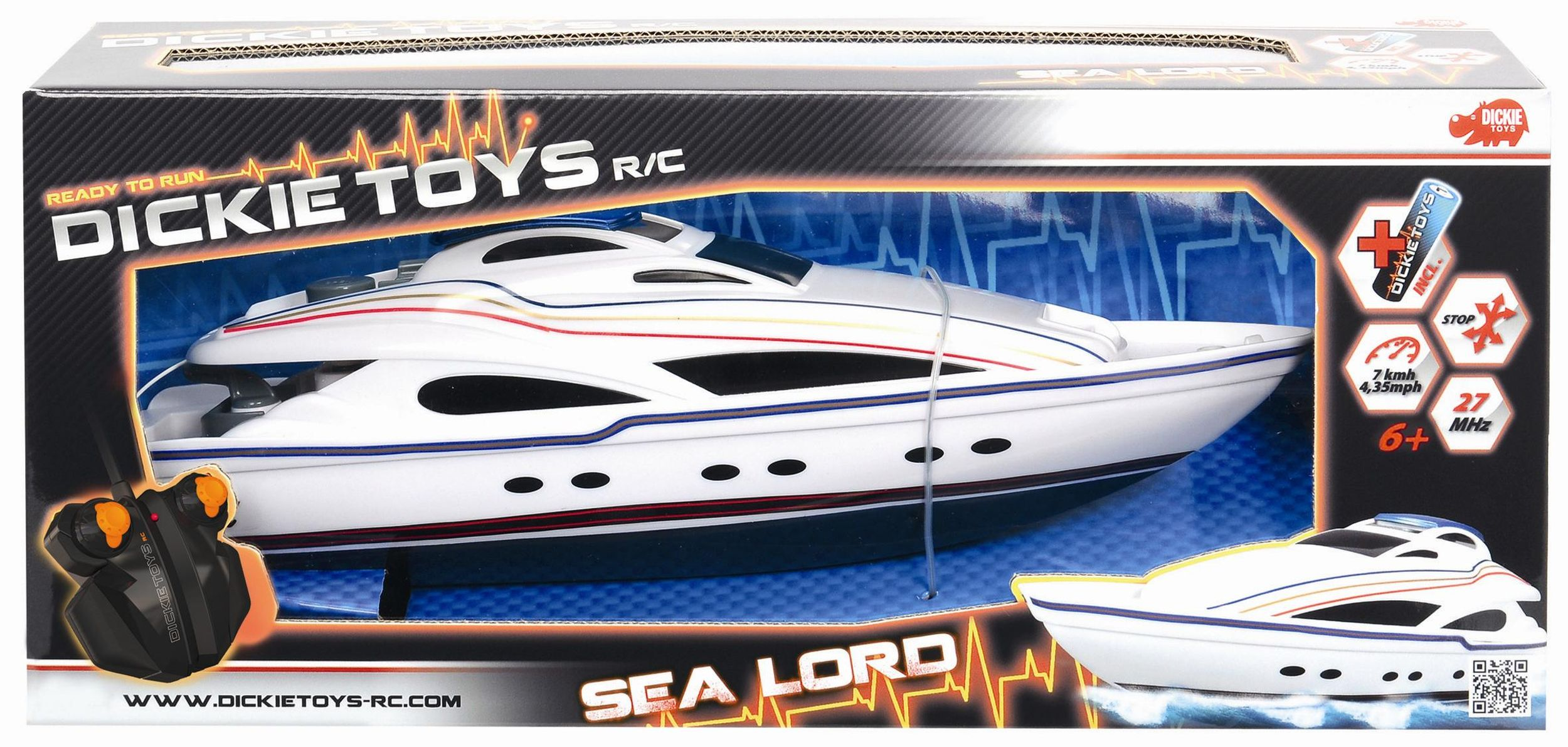 RC loď Sea Lord, 34 ...