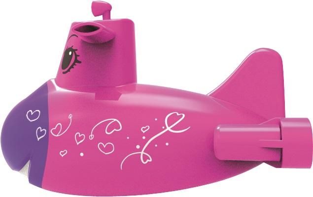 Ponorka růžová