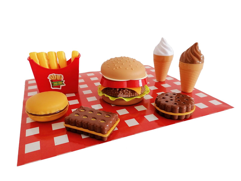 Sada potravin fast food
