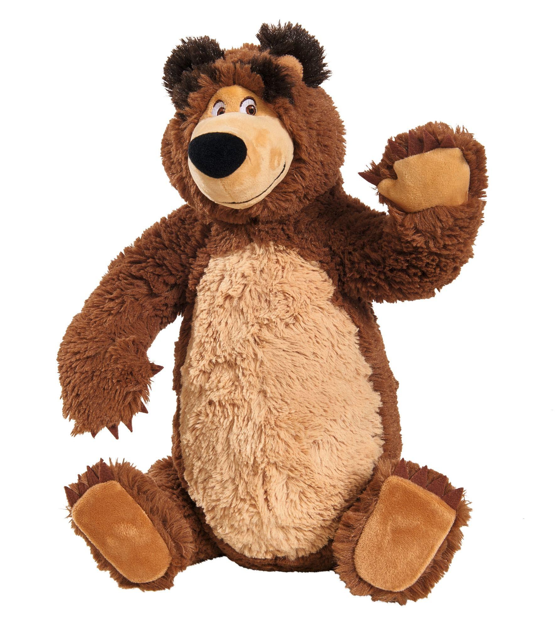 72b392a32 Máša a medvěd Set Míša plyšový 43cm a panenka Máša 23cm